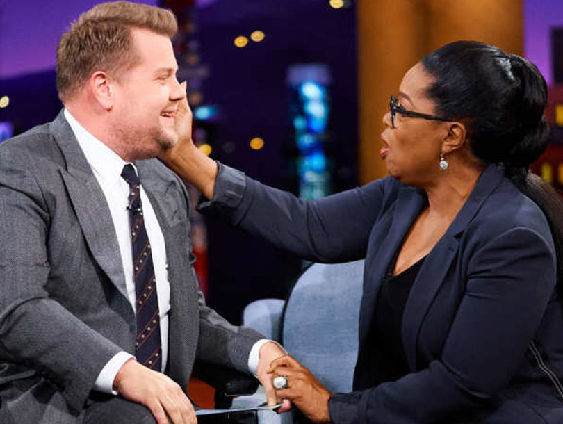 Oprah Makes James Corden Cry, Reenacts 'A Wrinkle in Time' and 2 More Magical 'Late Late Show' Moments