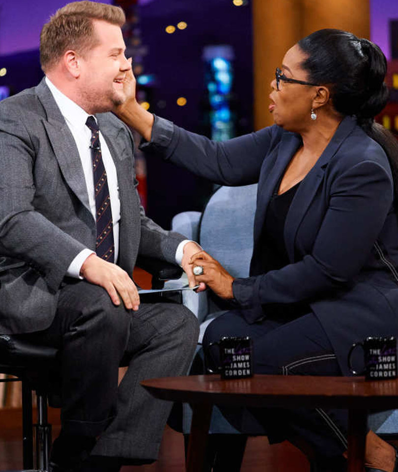 Oprah Makes James Corden Cry and 3 More Magical Moments