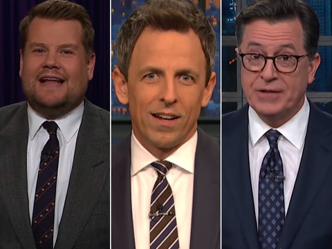 Late-Night Stars Tear Into Trump's Rambling Pennsylvania Rally Speech