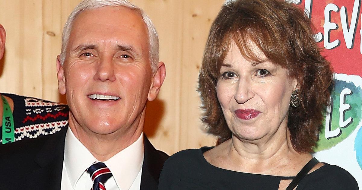Joy Behar Formally Apologizes on 'The View' for Mike Pence 'Mental Illness' Joke