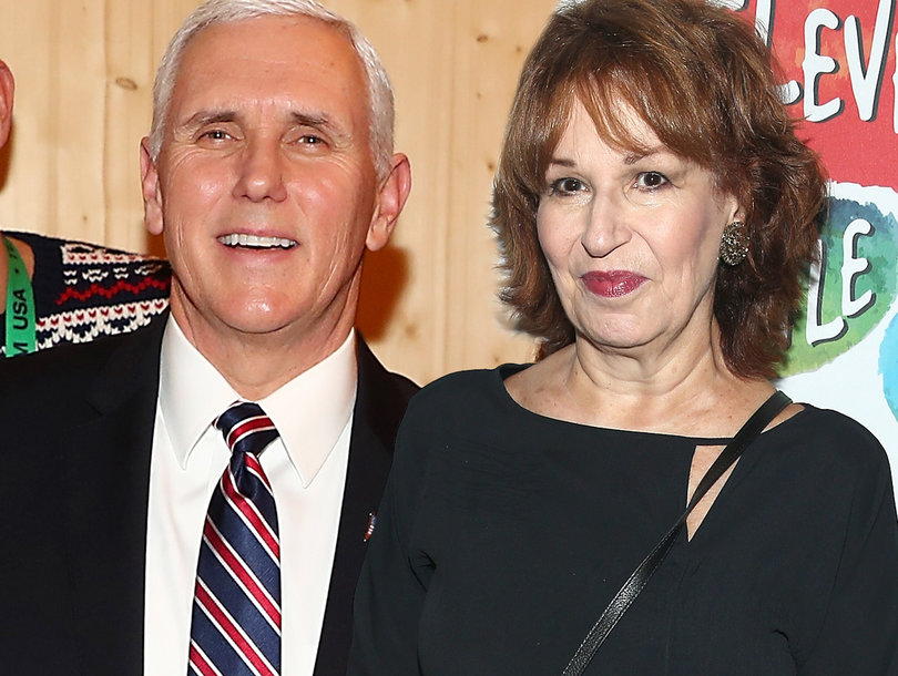 Joy Behar Apologizes on 'The View' for Mike Pence 'Mental Illness' Joke