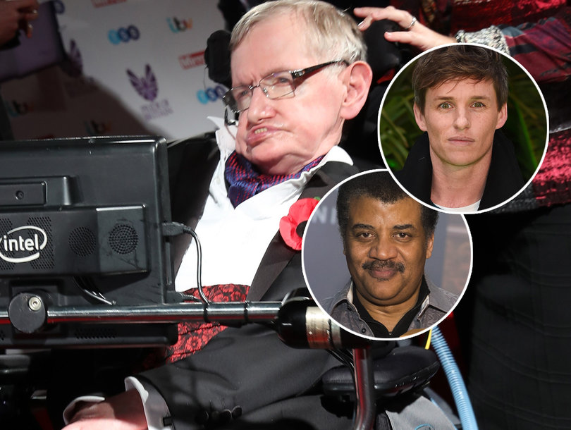 Stephen Hawking Actor Eddie Redmayne Joins Neil deGrasse Tyson and Other Celebrities Mourning Star Physicist