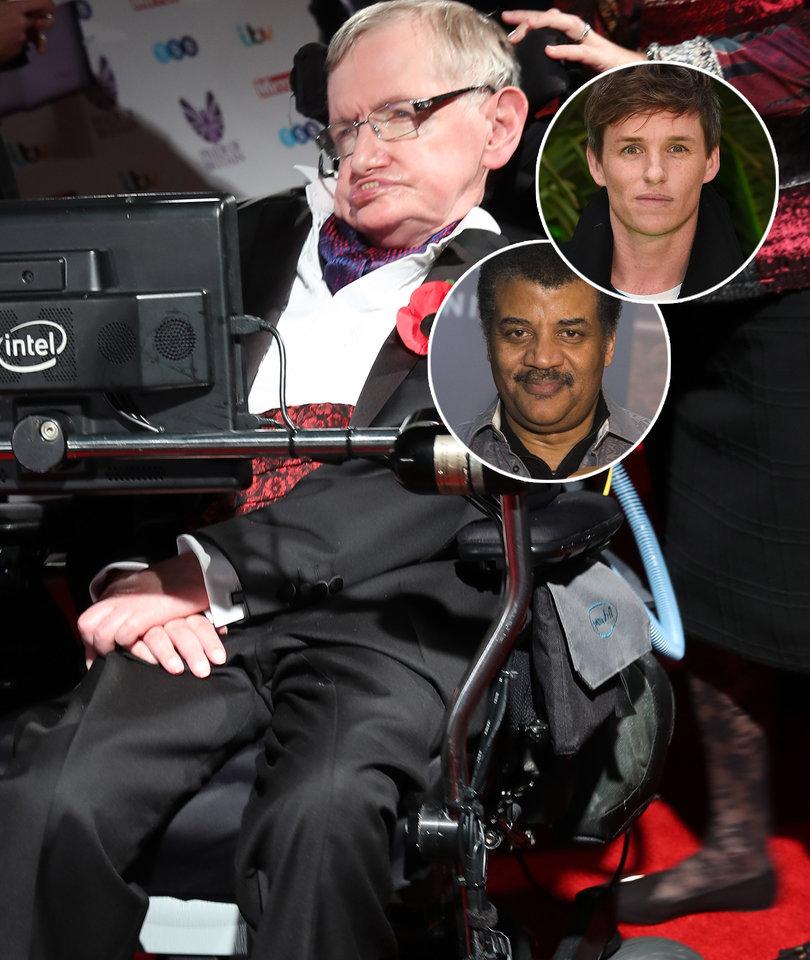 Eddie Redmayne Among Stars Mourning Stephen Hawking