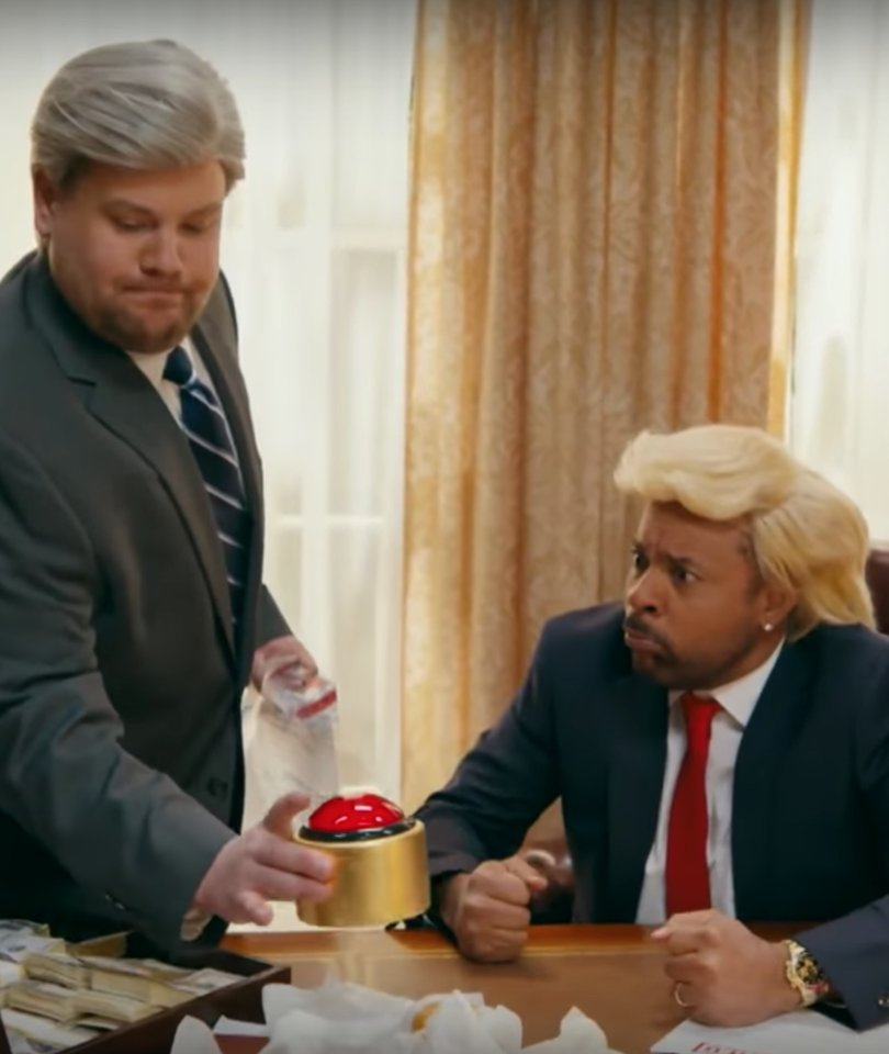Corden and Shaggy Turn 'Wasn't Me' Into Robert Mueller Investigation Parody