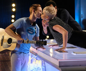 'American Idol' Contestant Changes His Tune on Katy Perry Kiss