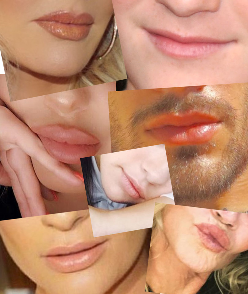 Guess the Pretty Pout in Honor of Lip Appreciation Day