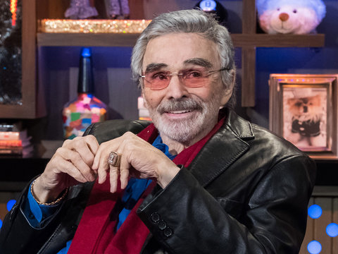 Burt Reynolds Throws Shade at Trump & This 'Overrated' Actress