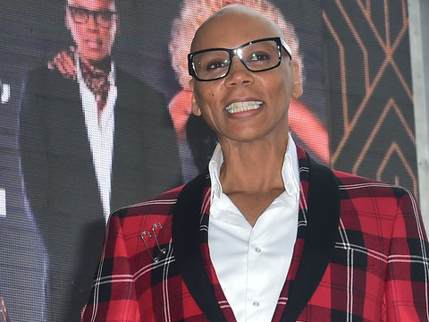 RuPaul is Honored with a Star on the Walk of Fame