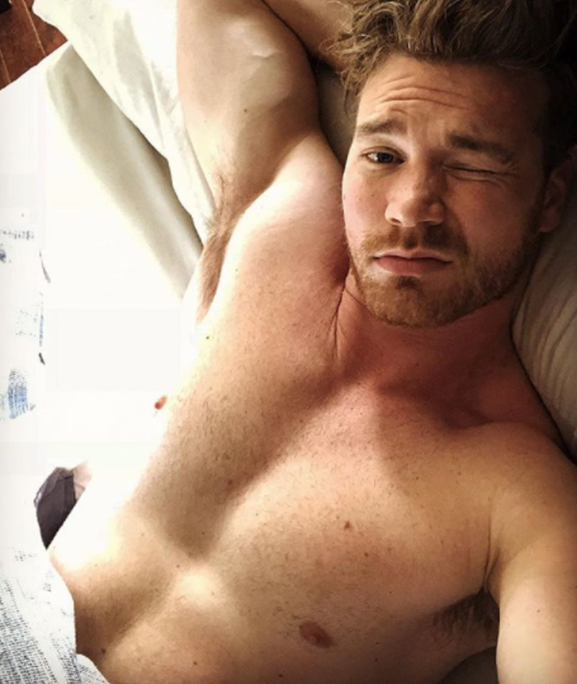 Derek Theler Marvel's New TV Star Has ABS OF STEEL