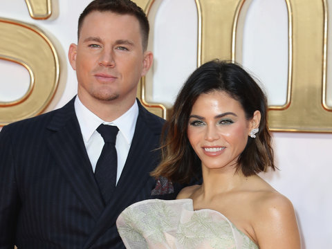 Channing Tatum and Jenna Dewan Let Daughter Everly Make Them Look 'Better'
