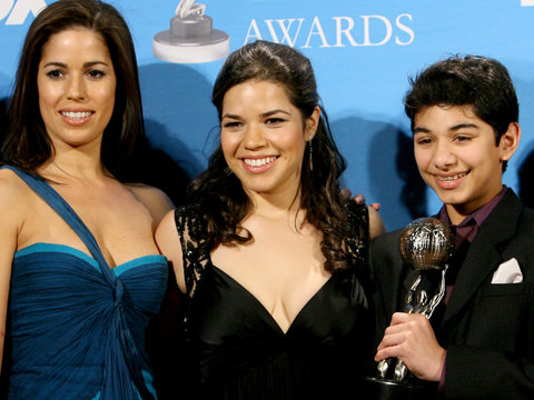 There was an 'Ugly Betty' Reunion at America Ferrera's Baby Shower