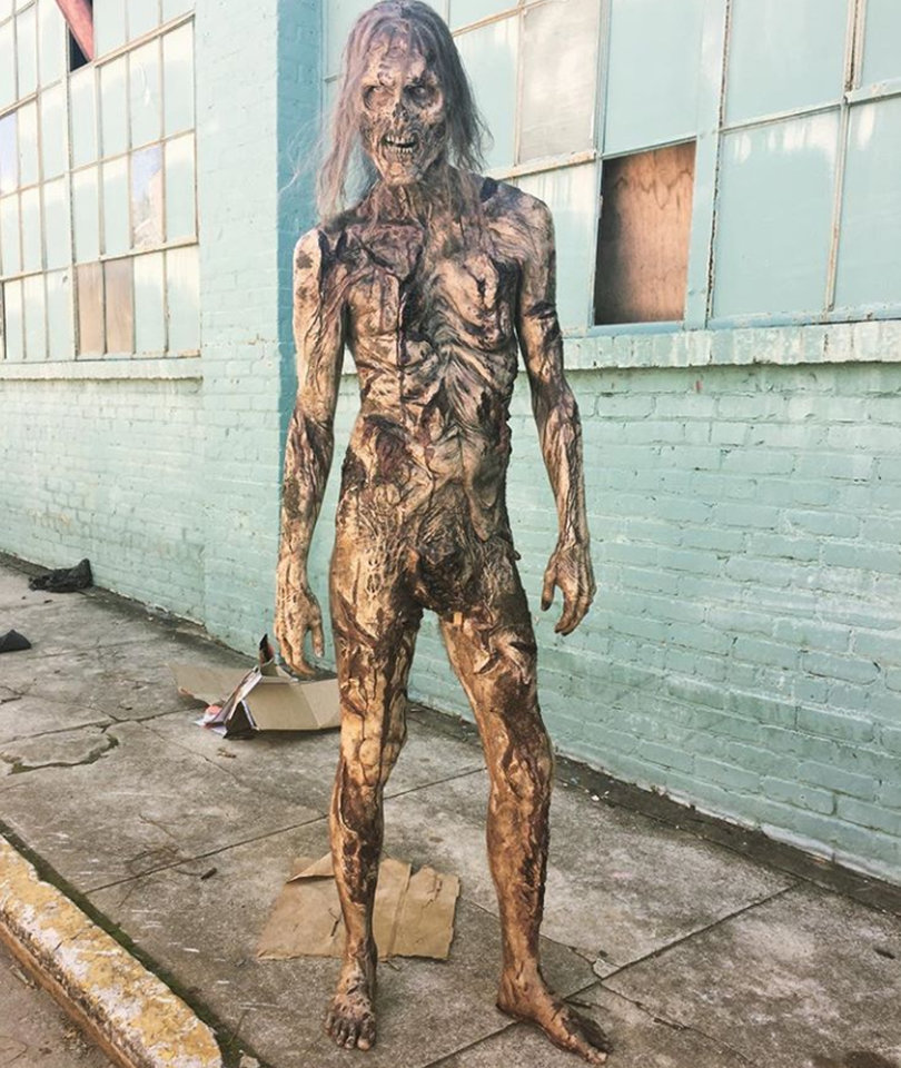 First Fully Nude Walker Makes Its Debut on 'The Walking Dead'