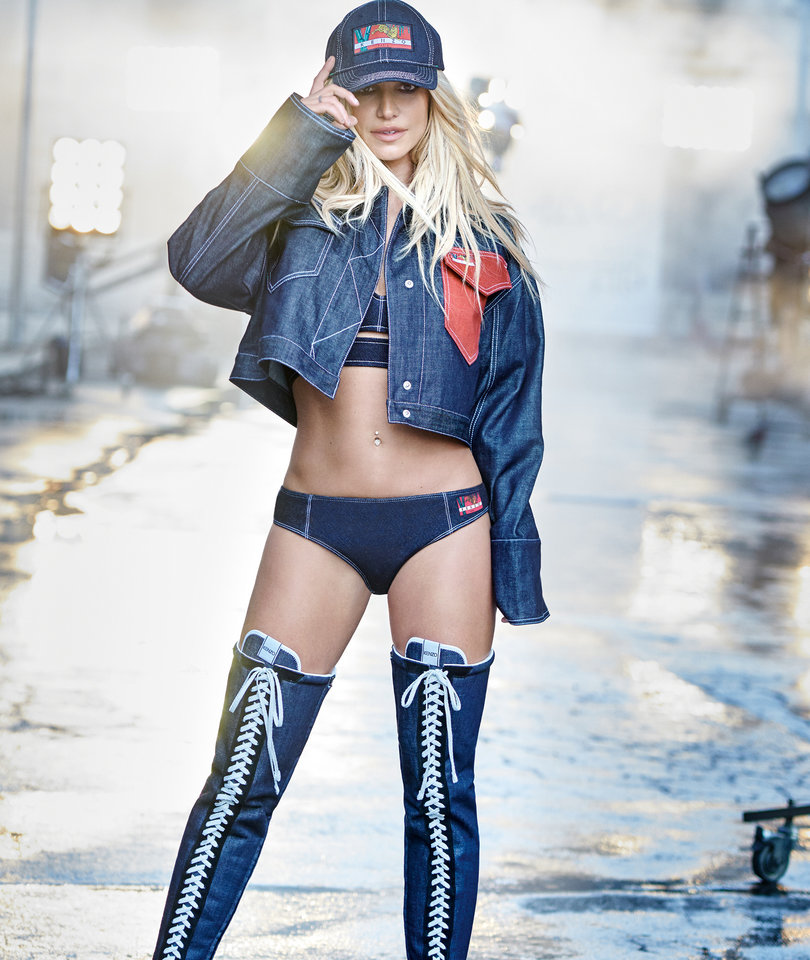 Britney Spears Shuts It Down for New Fashion Campaign