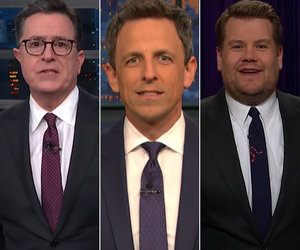 Late-Night Hosts Unleash on Trump for Firing Andrew McCabe