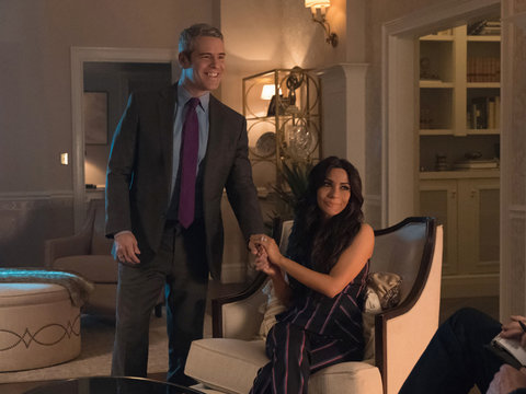Andy Cohen's 'Riverdale' Cameo Revealed -- What's He Doing with Hermione Lodge?