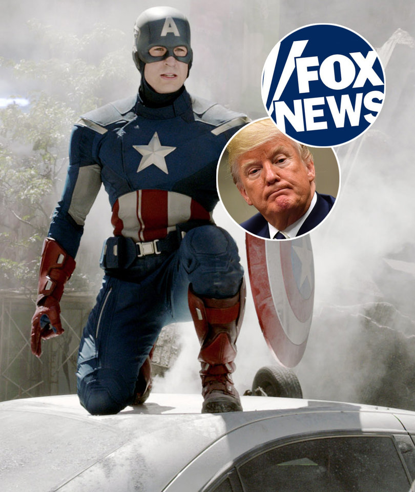 Captain America Slams 'Fox News and It's Goblin Army'