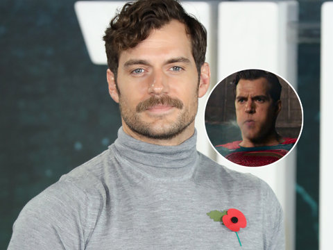 Cavill Takes Dig at Awful 'Justice League' CGI in Heartfelt Farewell to His Mustache
