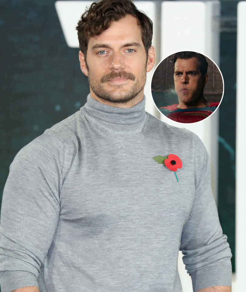 Cavill Takes Dig at 'Justice League' CGI in Heartfelt Farewell to His Mustache