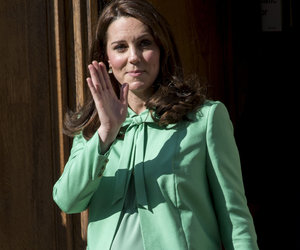 Kate Middleton Makes Last Public Appearance Before Giving Birth