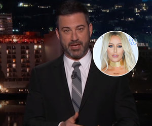 Kimmel Gives Aubrey O'Day Props for Hating Trump Jr. 'Before Everybody Else Did'