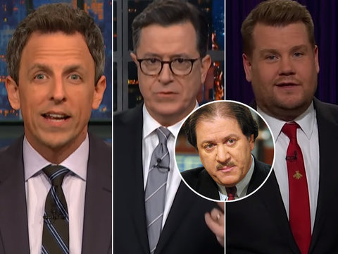 Late-Night Laughs Off Trump's New Conspiracy-Theorist Lawyer