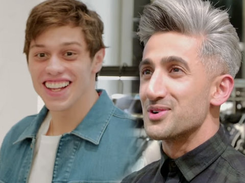 'Queer Eye' Stylist Upgrades 'SNL' Star Pete Davidson's 'Guido Trash' Look