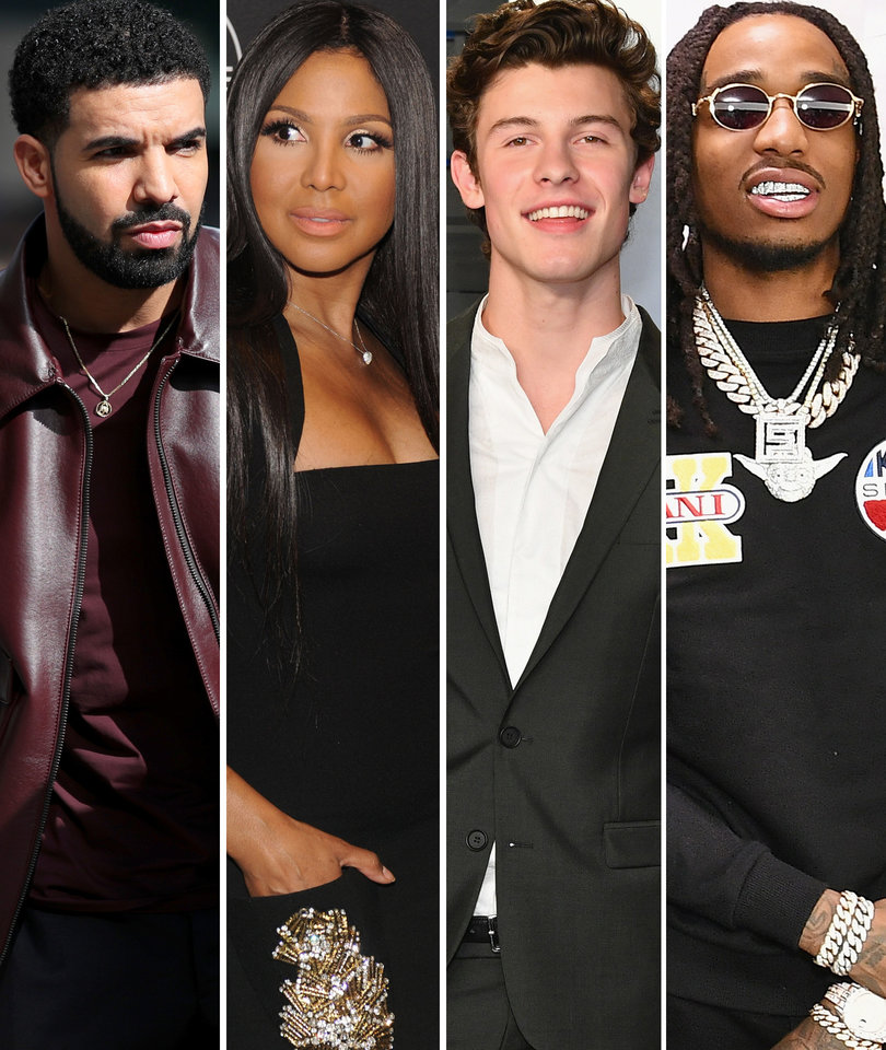 17 Songs You Gotta Hear: Drake, Shawn Mendes, Toni Braxton, Migos