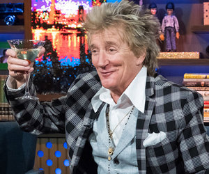 Rod Stewart Shades 'Dishonest' Elton John on 'WWHL' and Recalls 'Mean' Semen Rumor