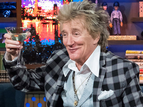 Rod Stewart Shades 'Dishonest' Elton John, Recalls 'Mean' Semen Rumor