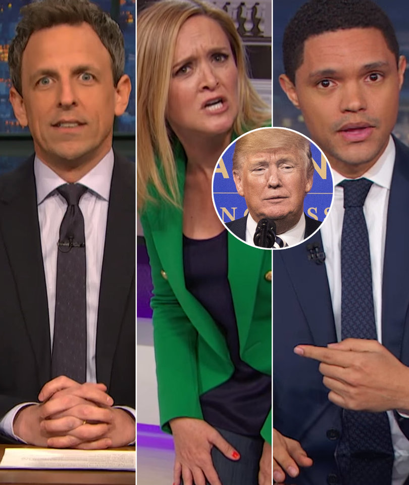 Late-Night Hosts Rip Into Facebook Cambridge Analytica Scandal