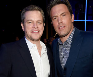 Matt Damon Supports Ben Affleck's Massive Back Tattoo, Even If the Entire Internet Hates…