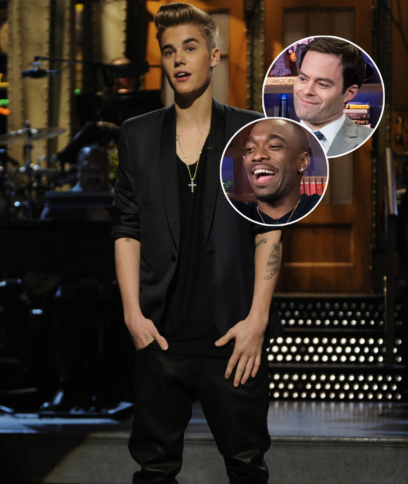Bill Hader Says Justin Bieber Was the Worst 'Saturday Night Live' Guest