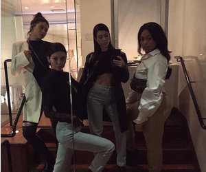 Kourtney Kardashian and The Jenners Enjoy a 'Little Dinner Party'