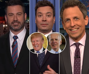 Late-Night Stars Imagine Joe Biden Fighting Donald Trump