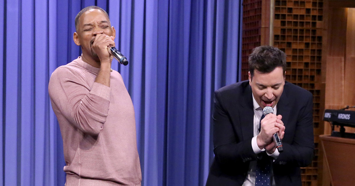 Will smith and jimmy fallon perform best tv theme songs of for Best house tunes of all time
