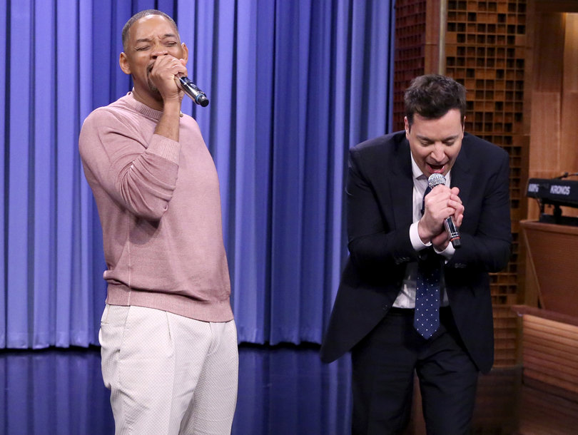 Will smith and jimmy fallon perform best tv theme songs of for Top house tracks of all time