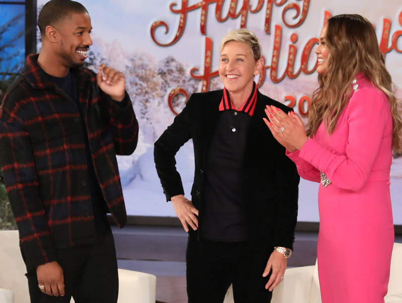 fdd8a7b32 Chrissy Teigen Pimps Out Her Assistant to Michael B. Jordan on  The ...