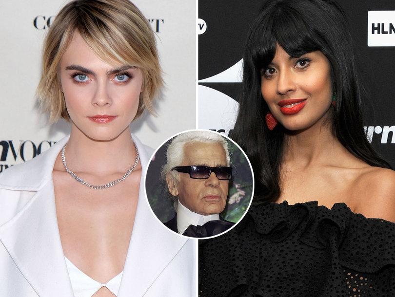 e147daa34da5 Karl Lagerfeld's Death Sparks Must Read Twitter Exchange Between Cara  Delevingne and Jameela Jamil