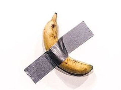 Banana Duct-Taped to Wall Goes For $120,000 at Art Basel in Miami, Wustoo
