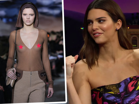 Kendall Jenner Recalls Being Told to 'Take the Shirt Off' for First Runway After Turning 18, Wustoo