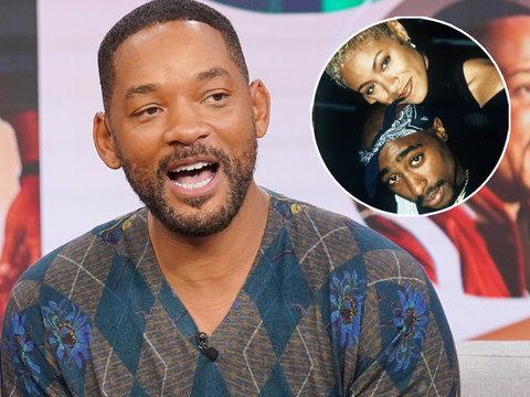Will Smith Admits He Was Jealous of Jada Pinkett's Relationship with Tupac, Wustoo