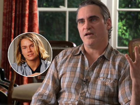 Joaquin Phoenix Gives Rare Interview About River's Death on 60 Minutes, Wustoo