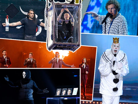 America's Got Talent: The Champions 5th Judge: Simon Steals Howie's Golden Buzzer for Stupid Act, Wustoo