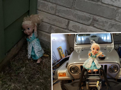 'Haunted' Elsa Doll Won't Let Go of Family — Keeps Returning After Being Thrown Out, Wustoo