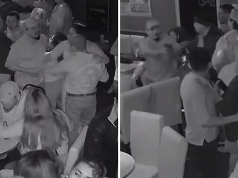 Watch a Man Shoot Another on Packed LA Dance Floor 45 Seconds After Bumping Into Him