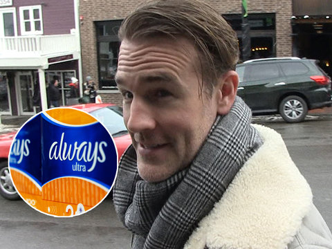 James Van Der Beek Says Periods Wouldn't Be An Issue If Men Got Them (Exclusive)