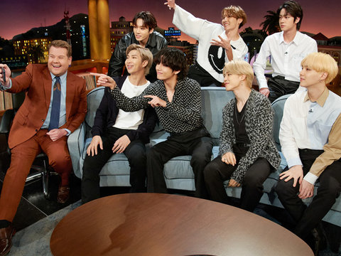 BTS Dominates Social Media Just by Playing Hide-and-Seek with James Corden and Ashton Kutcher